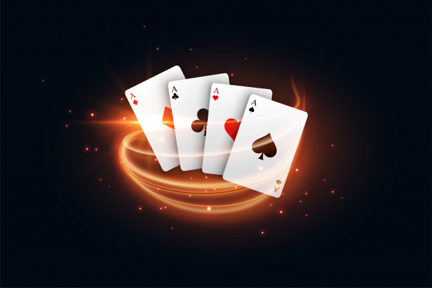 casino-playing-card-with-golden-light